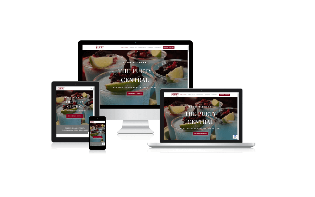 Nieuwe website The Purty Central